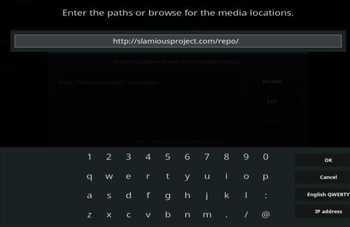 How to Install Slamious Kodi Build with Screenshots step 5