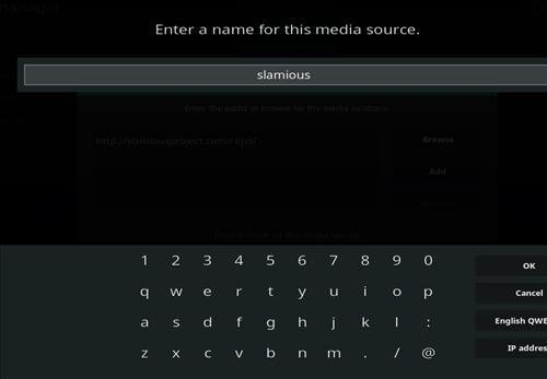 How to Install Slamious Kodi Build with Screenshots step 6