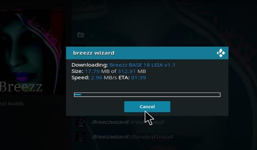 How to Install Breezz Base Kodi Build 18 Leia step 25