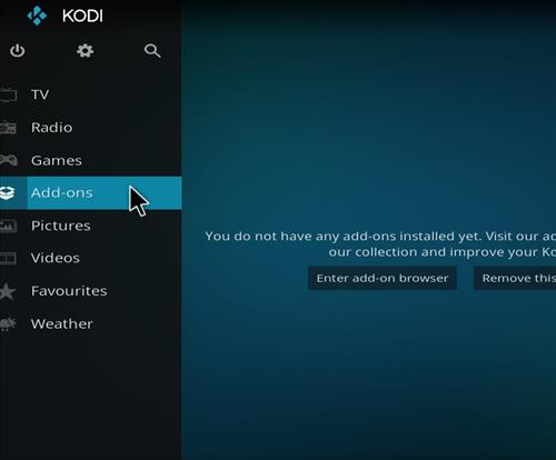 How to Install Nightshade Build Kodi 18 Leia step 8