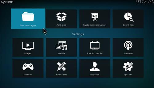 How to Install Slamious 18 Kodi Build Leia step 2