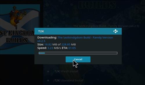 How to Install The Lastkingdom Kodi Build with Screenshots step 26