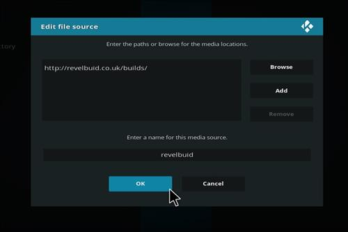 How to Install The Revelation Family Kodi Build with Screenshots step 7