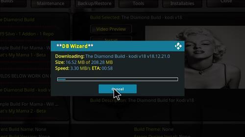 How to Install Diamond Kodi Build 18 Leia step 28