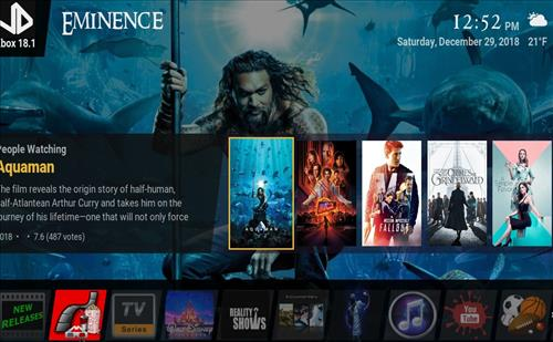 How to Install Eminence Kodi 18 Build Leia pic 1
