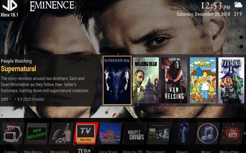 How to Install Eminence Kodi 18 Build Leia pic 2