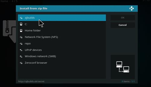 How to Install Borg Kodi Add-on with Screenshots step 11