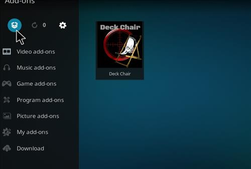 How to Install Deckchair Add-on for Kodi 18 Leia step 9