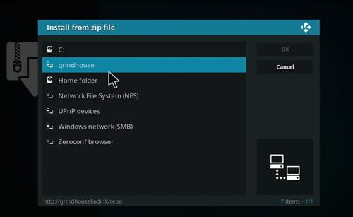 How to Install Gamer Kodi Build with Screenshots step 11