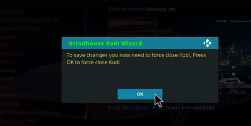 How to Install Gamer Kodi Build with Screenshots step 27