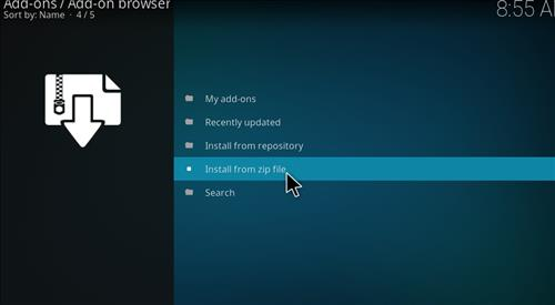 How to Install Impact Kodi Build with Screenshots step 10