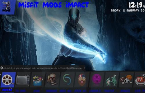 best kodi build impact