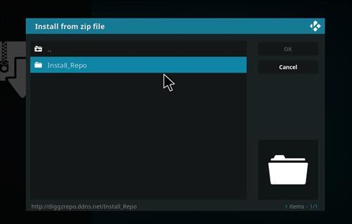 How to Install Diggz XenoX Kodi 18 Leia Build step 12
