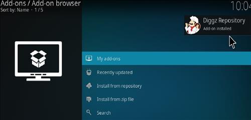 How to Install Diggz XenoX Kodi 18 Leia Build step 14