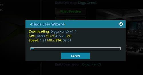 How to Install Diggz XenoX Kodi 18 Leia Build step 26