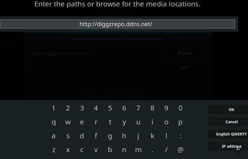 How to Install Diggz XenoX Kodi 18 Leia Build step 5