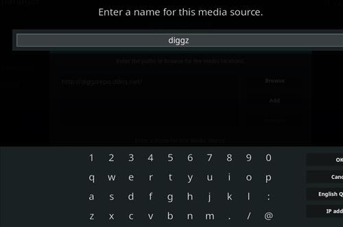 How to Install Diggz XenoX Kodi 18 Leia Build step 6