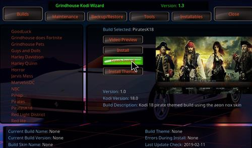 How to Install PiratesK18 Kodi Leia Build step 24