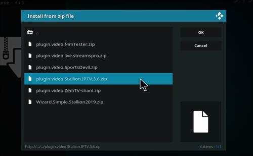 How to Install Stallion IPTV Add-on Kodi 18 Leia step 12