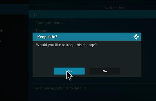 How to change the Skin back to Default Estuary breeze no bad step 5