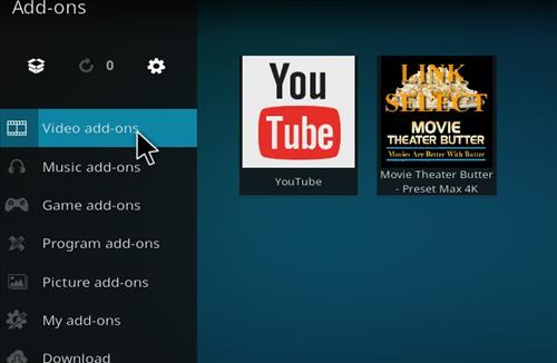 How to Install Movie Theater Butter Kodi 18 Leia Add-on step 22