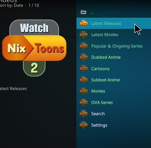 How to Install WatchNixtoons2 Kodi 18 Leia Add-on pic 2