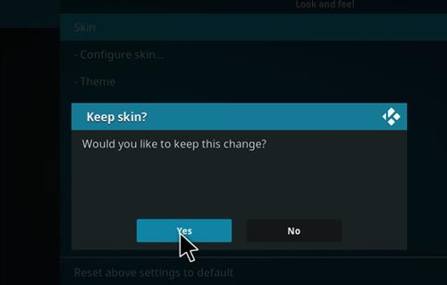 How to change the Skin back to Default Estuary Mammoth step 5
