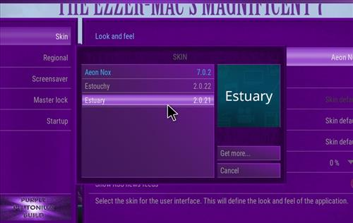 How to change the Skin back to Default Estuary plutonium step 4