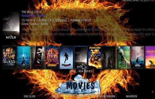 How to Install Fire & Ice Kodi 18 Build Leia pic 1