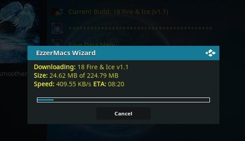 How to Install Fire & Ice Kodi 18 Build Leia step 27