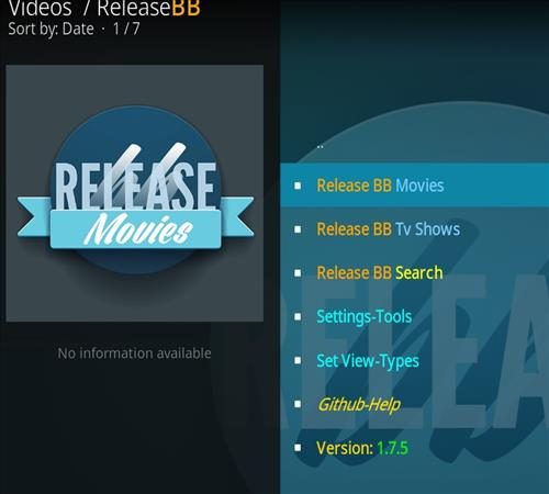 How to Install Release BB Kodi 18 Leia Add-on pic 2