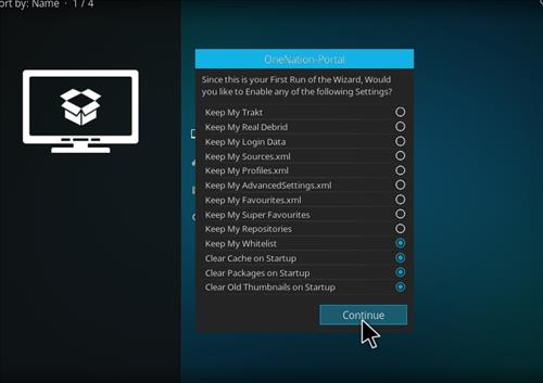 How to Install Cobalt Kodi 18 Build Leia step 15