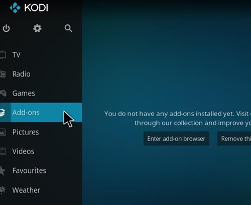 How to Install Cobalt Kodi 18 Build Leia step 8