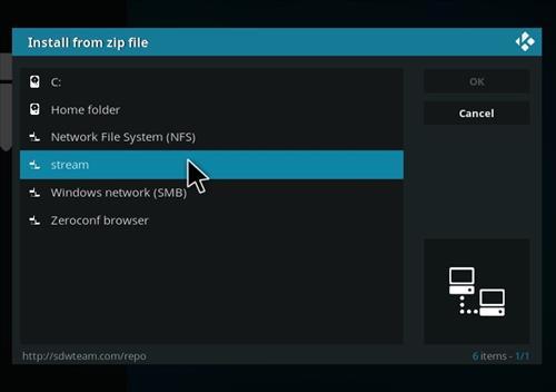 How to Install Duff Light Kodi 18 Build Leia step 11