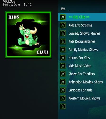 How to Install Kidz Club Kodi 18 Leia Add-on pic 2