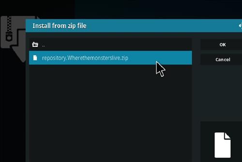 How to Install WolfPack Kodi 18 Leia Add-on step 12