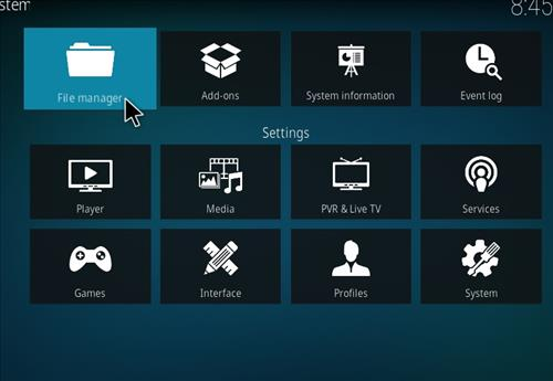 How to install Xanax Build on Kodi 18 Leia step 2