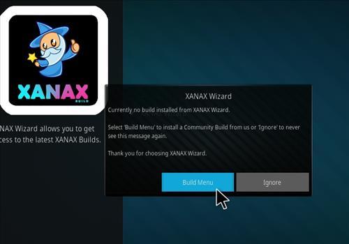 How to install Xanax Build on Kodi 18 Leia step 20