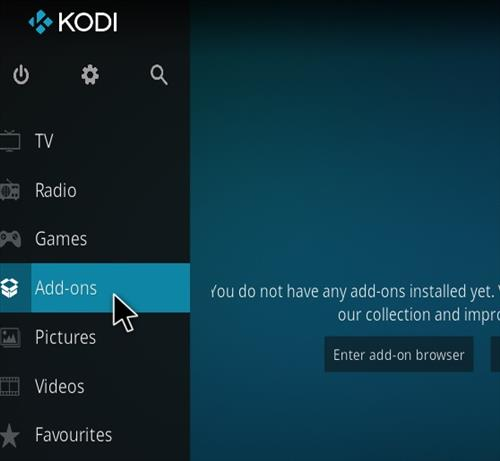 How to install Xanax Build on Kodi 18 Leia step 8