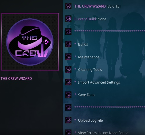 How To Install The Crew Wizard Kodi Overivew