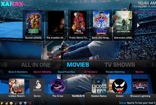 How To Install Xanax Build on Kodi 18 Leia Screenshot 1