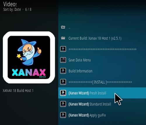 How To Install Xanax Build on Kodi 18 Leia Step 23
