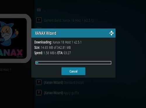 How To Install Xanax Build on Kodi 18 Leia Step 25