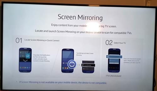 How to Screen Mirror to Samsung Smart TV Galaxy S10, S10E, S10+
