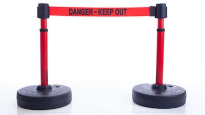 Retractable Belt Barrier Post