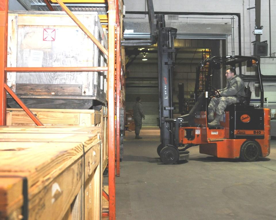 Forklift Collision