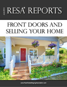 Real Estate Staging Association Report Front Doors