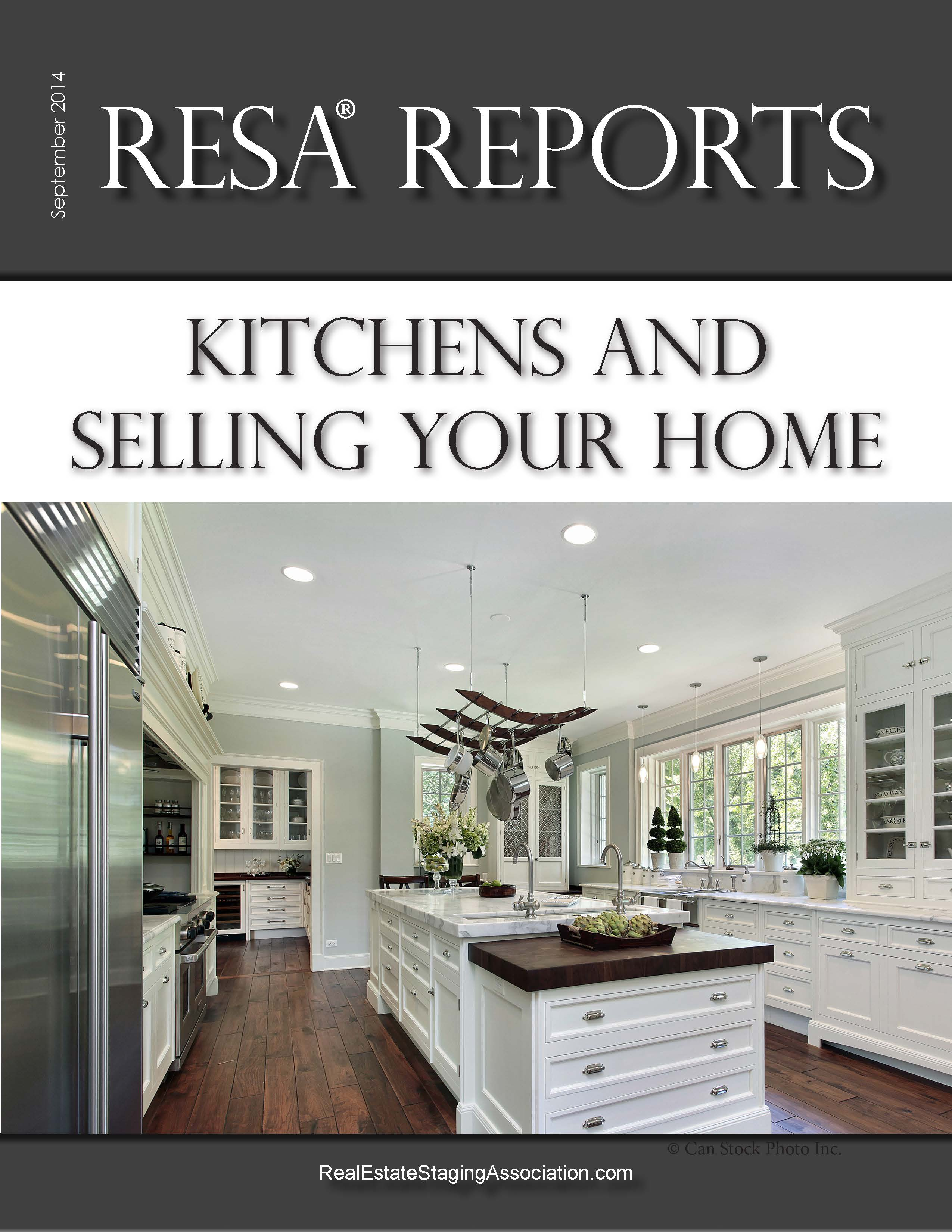 Real Estate Staging Association Report Kitchens
