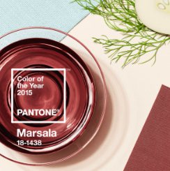Working with Marsala – 2015 Pantone Colour of the Year