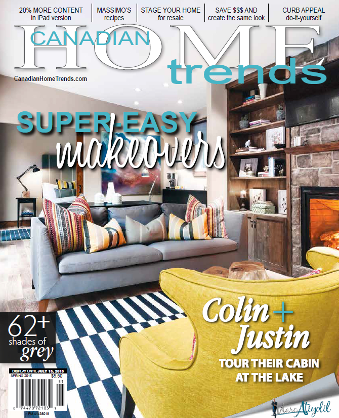 Featured in Canadian Home Trends Magazine…Again.